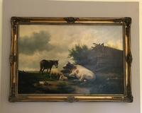 Edwin J Lambert Oil on Canvas (3 of 5)