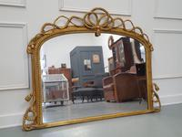Beautiful Gilded English Rope Design Overmantle Mirror c.1870 (6 of 9)