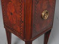 Antique Dutch Small Inlaid Mahogany Jardiniere (7 of 15)