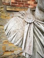 Large Composite Stone Statue On Column - Julius Cesar (8 of 11)