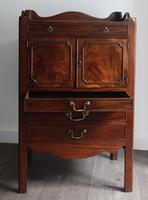 George III Mahogany Tray-top Bedside Commode (3 of 8)