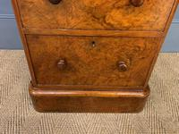 Pair of Burr Walnut Bedside Chest by Heal and Son (3 of 16)