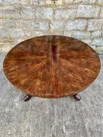 Exceptional Quality Regency Flame Mahogany Centre Table (10 of 10)