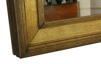 19th Century Overmantle Gilt Wall Mirror (6 of 8)