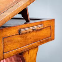 Victorian Leather Top Work Table (12 of 12)