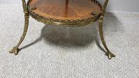 Superb French Brass Mounted Lamp Table (4 of 10)
