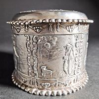 Dutch Silver Tea Caddy (7 of 7)