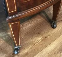 Edwardian Inlaid Mahogany Kidney Shaped Desk (18 of 21)