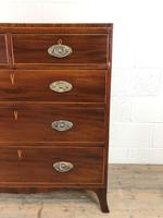Antique 19th Century Mahogany Chest of Drawers (12 of 14)