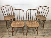 Set of Four Antique Bentwood Chairs (2 of 8)