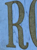 Interesting Architectural Large Heavy Marble & Gilt Inscribed Royal Insurance Building Sign (3 of 13)