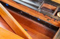 Burr Walnut Brass Bound Writing Slope 1870 (9 of 12)