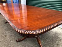 Quality Mahogany Extending Dining Table (8 of 15)