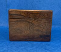 William IV Rosewood Jewellery Box Inlaid with Beautiful Mother of Pearl (11 of 14)