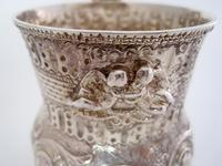 Georgian Silver Christening Mug with a Waisted and Globular Form (3 of 6)