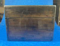 Victorian Ebonised Jewellery Box with Mother of Pearl & Abalone Inlay (3 of 18)