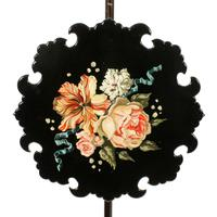 Pair of Edwardian Pole Screens (5 of 8)