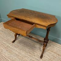 Victorian Rosewood Antique Writing Table (4 of 7)