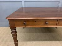 Victorian Period Mahogany Partners Writing Table (6 of 16)