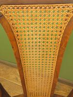 Unusual Antique Bentwood Chair with Caned Seat & Back (4 of 17)