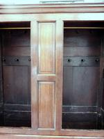 Country Oak Press Cupboard c.1730 (5 of 10)
