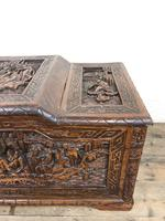Early 20th Century Carved Camphor Trunk (11 of 14)