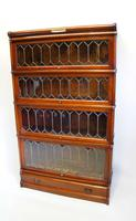 Good Quality Mahogany Globe Wernicke Sectional Glazed Bookcase (19 of 29)
