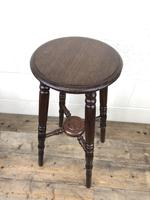 Late Victorian Stained Pine Jardiniere Plant Stand (5 of 7)