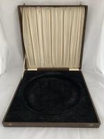 Large 893g Antique Silver Drinks Tray or Salver 1933 Birmingham Presentation Box (2 of 10)