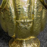 Late Victorian Brass Coal Helmet (4 of 14)