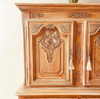 French Antique Style Cabinet / Louis XV / Cupboard / Sideboard / Drinks Cabinet (4 of 7)