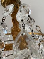 A Single Light French Waterfall Chandelier (6 of 8)