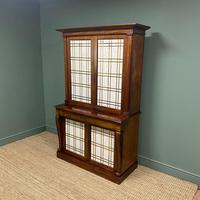 Mahogany Antique Bookcase Cupboard – Charles C Gray 1848 (3 of 9)
