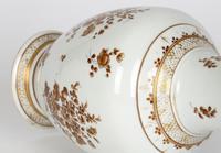 Paris Porcelain En Grisaille Floral Painted Vase c.1830 (2 of 18)