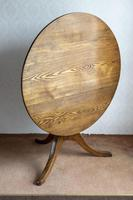 Magnificent Ash Tripod Table - Seat 4 Comfortably (7 of 7)