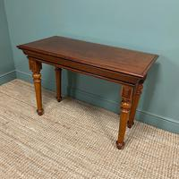 Spectacular Victorian Mahogany Antique Console Table (5 of 6)