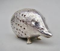 Exquisite Edwardian Silver Hedgehog Pin Cushion, Birmingham 1903 (2 of 9)