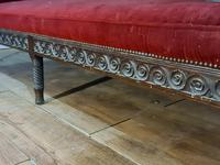 Rosewood Georgian Bench Settle 18th C (12 of 12)