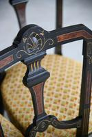6 Victorian Aesthetic Movement Dining Chairs (8 of 13)