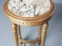 Antique Louis XV Style Giltwood Occasional Table (4 of 8)