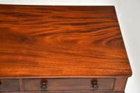 Antique William IV  Mahogany Writing Table (8 of 9)