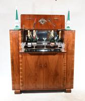 Vintage Art Deco Cocktail Cabinet Drinks 1930s (2 of 11)