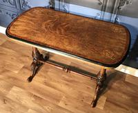 Victorian Burr Walnut & Amboyna Centre Table (8 of 14)