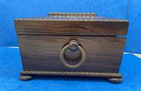 William IV Rosewood Sarcophagus Box with Inlay (7 of 13)