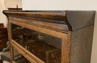 Antique Oak Stacking Lawyer's Bookcase (16 of 16)