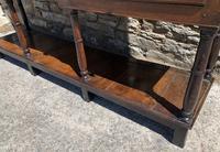 Antique Georgian Oak Potboard Dresser (11 of 28)