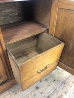 Early 20th Century Antique Oak Dresser (5 of 16)