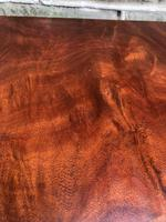 Antique Mahogany Serpentine Chest of Drawers (4 of 9)