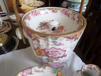 Beautiful 'in the eyes of the Beholder'! 7 Piece Cauldon of Staffordshire Toilet Set c.1907 (2 of 6)
