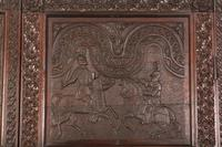 Carved Oak Hall Cupboard (3 of 15)